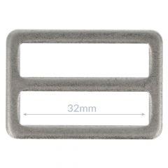 Gesp metaal 32mm - 10st