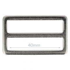Gesp metaal 40mm - 10st