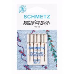 Schmetz Dubbel oog 5 naalden 80-12 - 10st