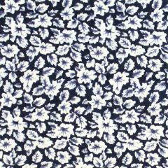 Tissu de Marie Stof bloemen met blaadjes 1.45m - 10m
