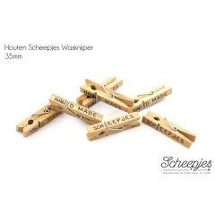Scheepjes Wasknijper hout - 50st