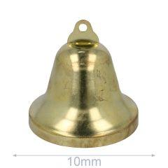 Klokken 10-75mm goud - 5-100st