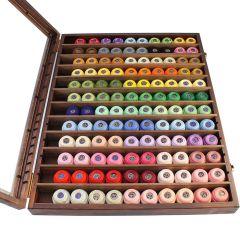 DMC Assortiment Dentelles vitrine 2x60 kleuren - 1st
