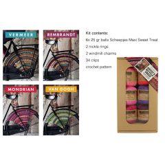 Wheel guard kit bicycle dress assortiment - 4st
