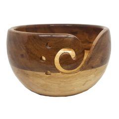 Scheepjes Yarn bowl acaciahout en dennenhout - 1st