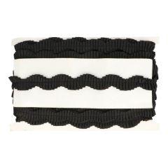 Ripsband slinger - gerimpeld - 9,2m