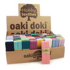 Oaki Doki Display met Jersey biaisband 120 stuks in doos - 1