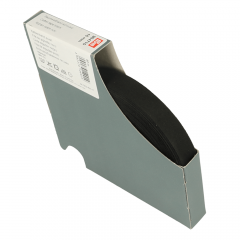 Prym Katoenband 15mm zwart - 40m