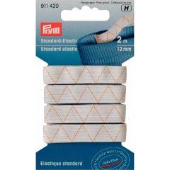 Prym Standaard elastiek 12mm wit - 5x2m