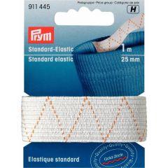 Prym Standaard elastiek 20mm zwart/wit 1m - 5st H