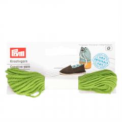 Prym Espadrilles - creatief garen groen - 3x7m