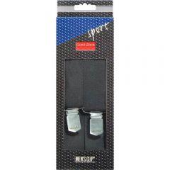 Prym Men's clip sport 120cm 35mm zwart - 1st