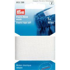 Prym Band elastiek zacht 40mm - 5x1m