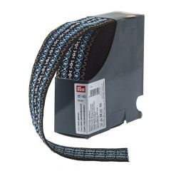 Prym Gekleurd elastiek 50mm blauw - 7m