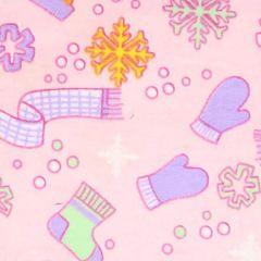 Tissu de Marie Stof flanel winter 1.15m - 10m