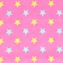 Tissu de Marie Stof flanel sterren 1,15m - 10m