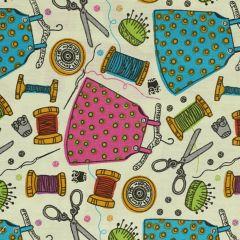 Tissu de Marie Stof kleermakersbenodigdheden 1.50m - 10m