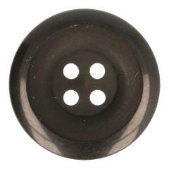 Knoop zwart half mat-glans - 40-50st