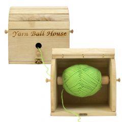 Scheepjes Yarn ball house-garen huis - 1st