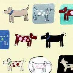 Tissu de Marie Stof honden 1.50m - 10m