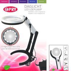 Opry Daglicht led loeplamp opl.baar 8,5 & 13cm diameter- 1st