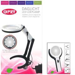Opry Daglicht LED loeplamp oplaadbaar 8,5 cm diameter - 1st