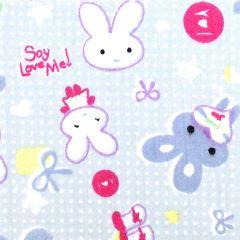 Tissu de Marie Stof konijnen 1.50m - 10m