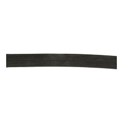 Vouwtres elastisch glans 30mm - 25m - 000