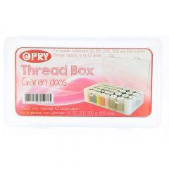 Naaigarenbox voor max. 42 klosjes garen 50-1000m - 1st