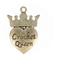Bedeltje Crochet Queen - 100 stuks