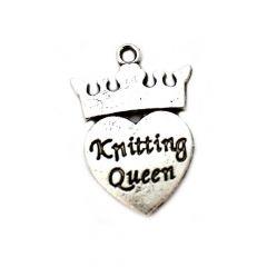 Bedeltje Knitting Queen - 100 stuks