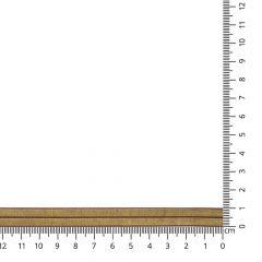 Vouwtres elastisch goud- 25m