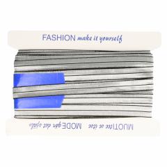 Vouwtres elastisch zilver - 25m