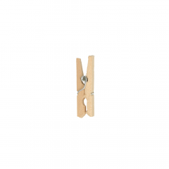 Wasknijper naturel 25-45mm-40st