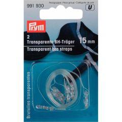 Prym Transparant BH-schouderband 15mm - 5st  U