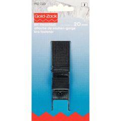 Prym BH-sluiting 3 sluitstanden 20mm zwart - 5st  I