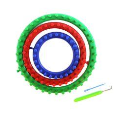 Breiringenset (3st) 14-19-24 cm Knit Quick - 1st