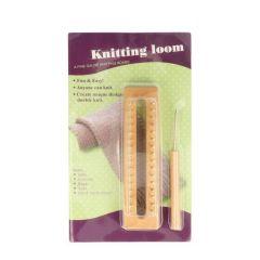 Knitting loom hout rechthoekig - 1st