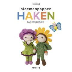 Bloemenpoppen haken - Bas den Braver - 1st
