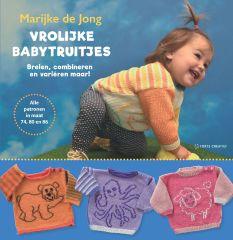 Vrolijke babytruitjes - Marijke de Jong - 1st
