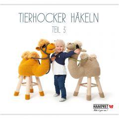 Tierhocker häkeln teil 3 - Anja Toonen - 1st