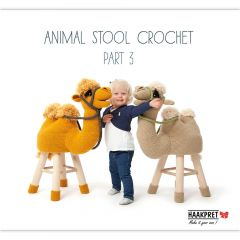 Animal stool crochet part 3 - Anja Toonen - 1st