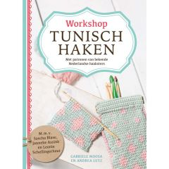 Workshop Tunisch haken - Gabrielle M. en Andrea L. - 1st