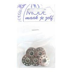 C0408  MMJZ Naaimachine spoelen metaal - 5st