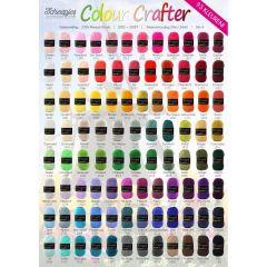 Scheepjes Colour Crafter poster A2 formaat - 1st
