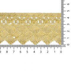 Goud galon 47mm - 8,2m
