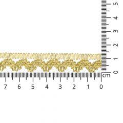 Goud galon 14mm - 16,4m
