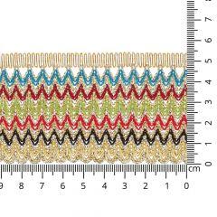 Passement band 54mm - 8,2m - MULTI
