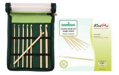 KnitPro Bamboo haaknaaldenset 8 maten - 1st