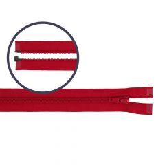 Spiraal rits deelbaar nylon 55cm - 5st